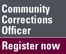 Register for Community Corrections Officer positions
