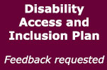 Disability Access and Inclusion Plan