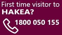 First time visitor call 1800 050 155