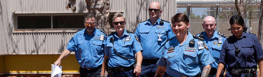 Apply now to become a Prison Officer