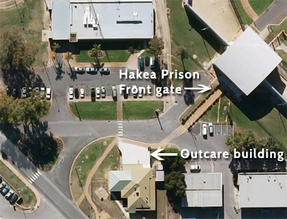 hakea prison - where to report for visits