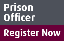 Register your interest in becoming a prison officer.